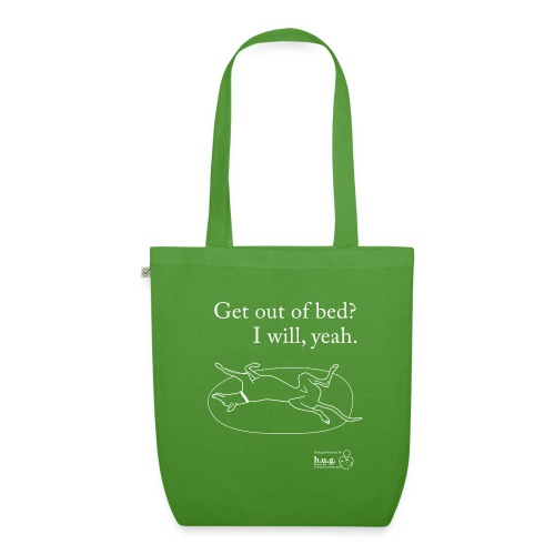 Greyhound roaching - EarthPositive Tote Bag