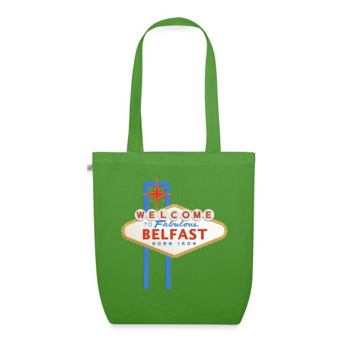 Belfast - Vegas sign - EarthPositive Tote Bag