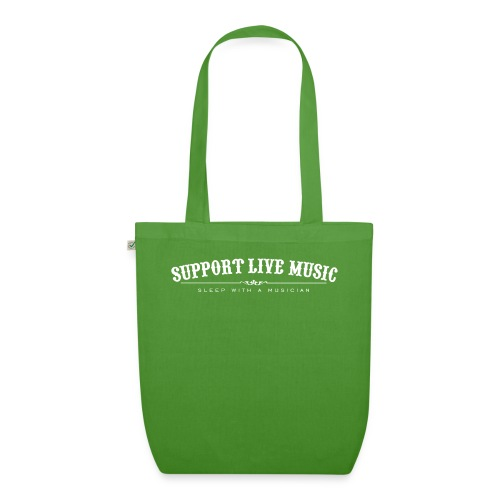 Support Live Music - sleep with a musician - EarthPositive Tote Bag