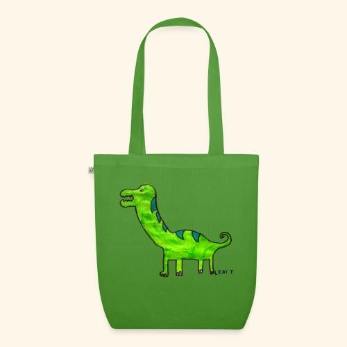 LeniT Dinosaur - Luomu-kangaskassi