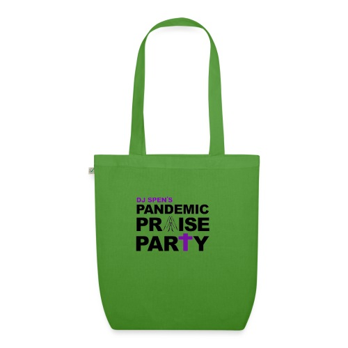 Pandemic Praise Party Logo - EarthPositive Tote Bag