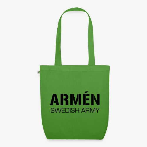 ARMÉN -Swedish Army - Ekologisk tygväska