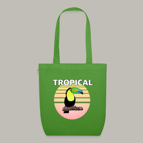 Toucan in the sun - Sac en tissu biologique
