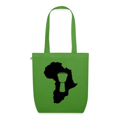 Djembe in Afrika - Bio-Stoffbeutel