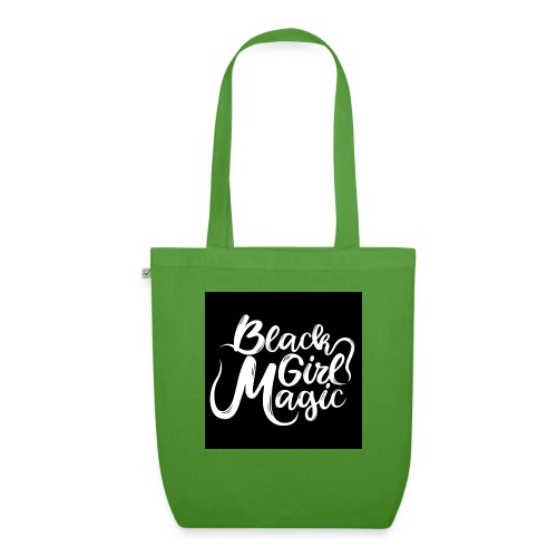 Black Girl Magic 1 White Text - EarthPositive Tote Bag