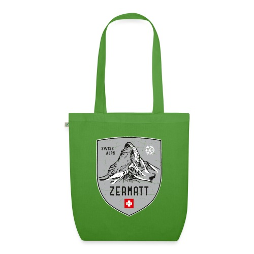 Zermatt Schweiz Wappen - EarthPositive Tote Bag