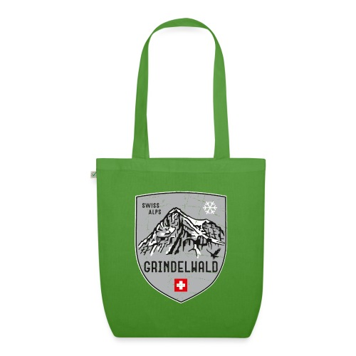 Grindelwald Switzerland coat of arms - EarthPositive Tote Bag