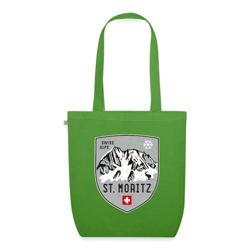 St. Moritz coat of arms - EarthPositive Tote Bag