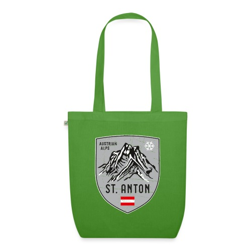 St. Anton Austria coat of arms - EarthPositive Tote Bag