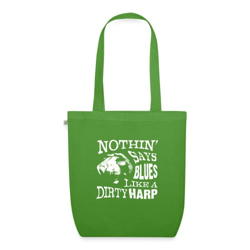 Nothin' Say Blues Like a Dirty Harp #2 - EarthPositive Tote Bag