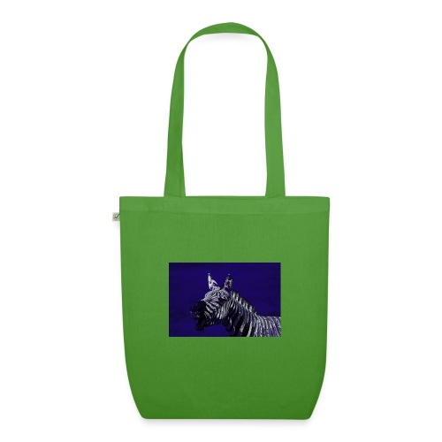 blue zebra - EarthPositive Tote Bag
