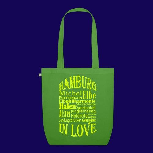 Hamburg in Love: Die Highlights der Hansestadt - Bio-Stoffbeutel