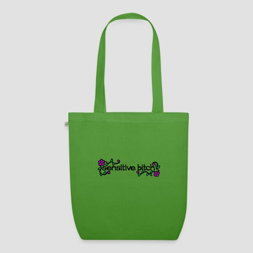 Sensitive Bitch (black) - EarthPositive Tote Bag
