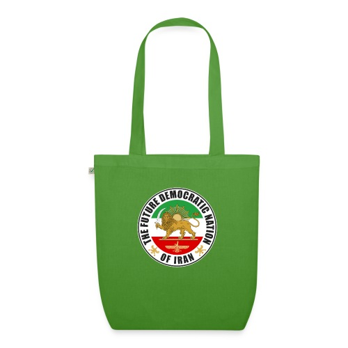 Iran Emblem Old Flag With Lion - EarthPositive Tote Bag
