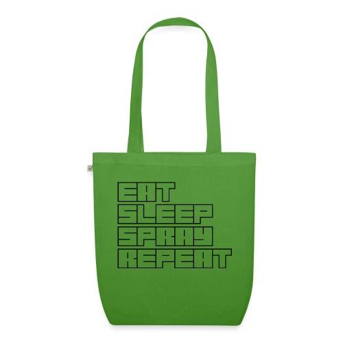 EATSLEEPSPRAYREPEAT - EarthPositive Tote Bag
