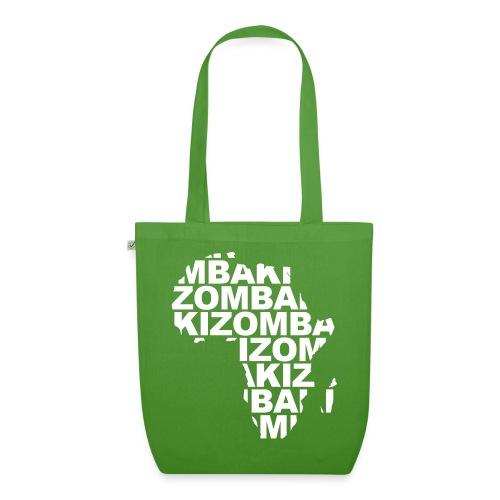 Kizomba mapa África - Bolsa de tela ecológica