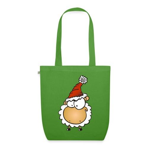 Weihnachts Schaf - Bio-Stoffbeutel