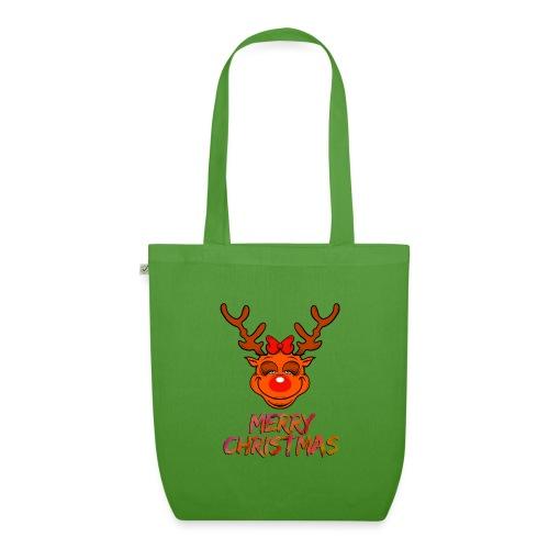 Rudolph weiblich - Bio-Stoffbeutel