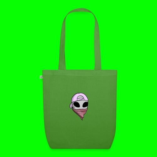 gangsta alien logo - Borsa ecologica in tessuto