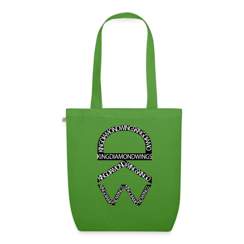 King Diamond Wings Logo - EarthPositive Tote Bag