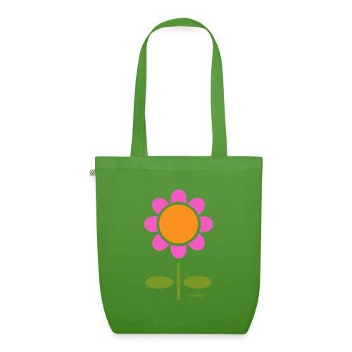 Retro flower - Luomu-kangaskassi