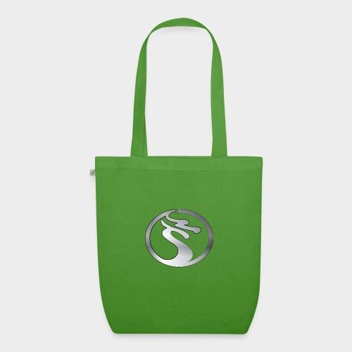 LOGO DRAGON PLATA - Bolsa de tela ecológica
