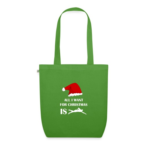 All I Want For Christmas Is Swim - Borsa ecologica in tessuto