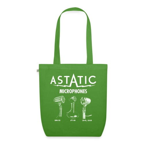Astatic mic advert - EarthPositive Tote Bag