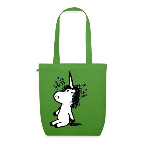 unicornio lloron - Borsa ecologica in tessuto