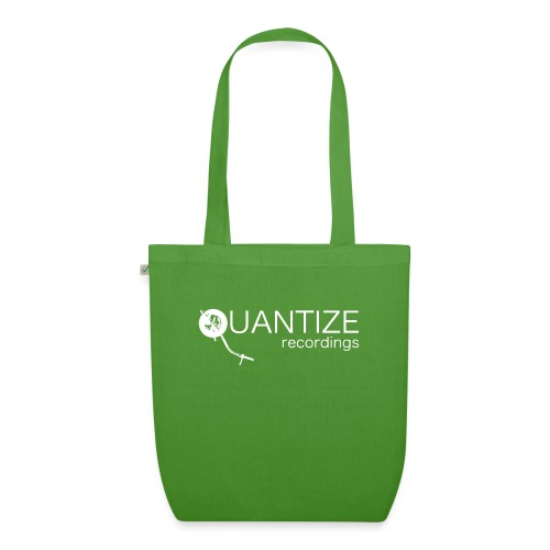 Quantize White Logo - EarthPositive Tote Bag