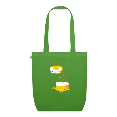 Cat sandwich gatto sandwich - Borsa ecologica in tessuto