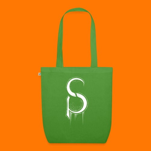 SCP-sign-WHITE transp - EarthPositive Tote Bag