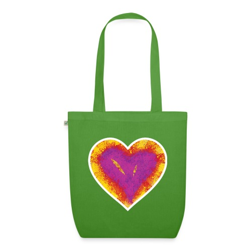 Stitched Heart - EarthPositive Tote Bag