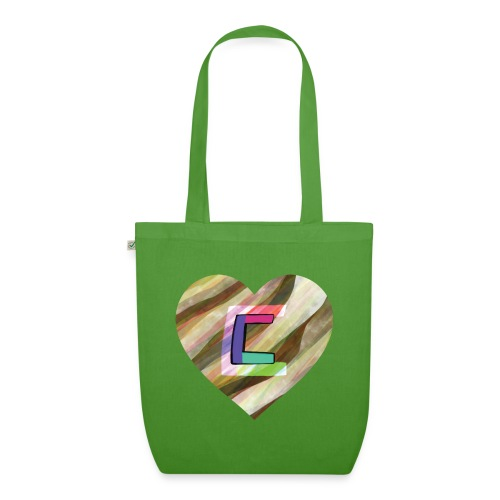 Chris could be crossed by colorful continous C's - EarthPositive Tote Bag