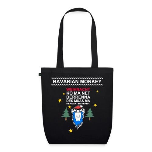 Bavarian Monkey derwarten kenna - Bio-Stoffbeutel