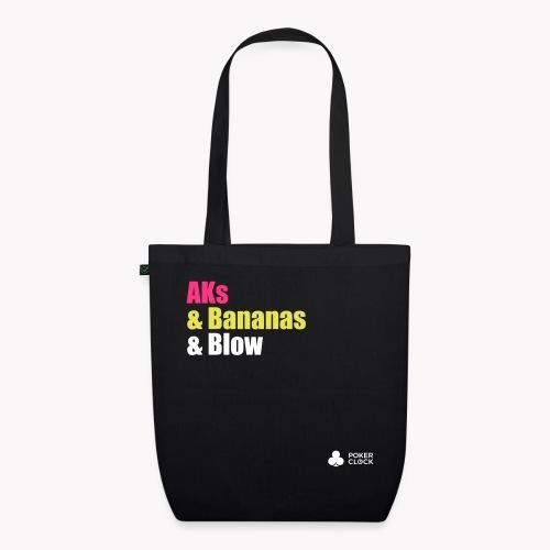 AKs & Bananas & Blow - Bio-Stoffbeutel