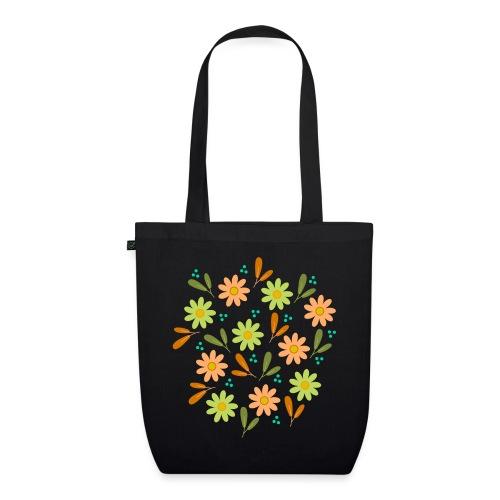 Blumen Muster - Bio-Stoffbeutel