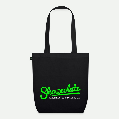 Logo Showcolate + - Bio-Stoffbeutel