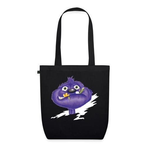 das lila Monster - Bio-Stoffbeutel