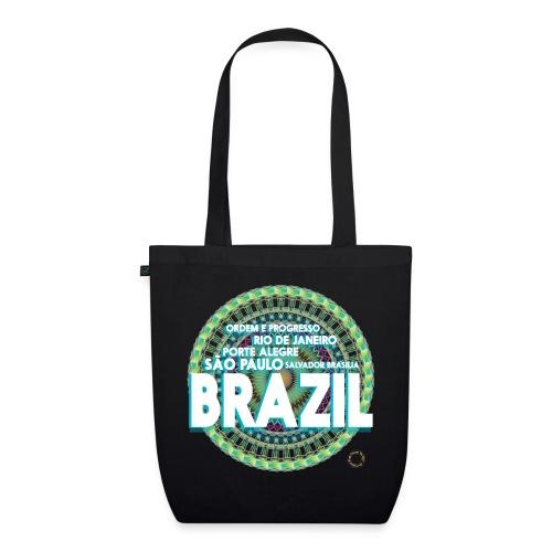 Lemon Brazil Mandala - Sac en tissu biologique