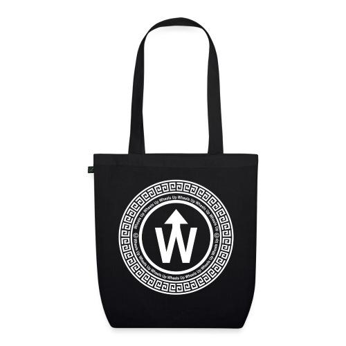 wit logo transparante achtergrond - Bio stoffen tas
