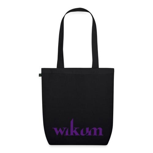 wikum logotext - Ekologisk tygväska