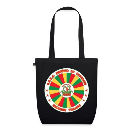 Papagaio drum logo - Luomu-kangaskassi