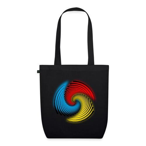 Farbspirale - Bio-Stoffbeutel