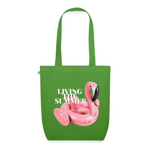 Living the Summer - Bolsa de tela ecológica