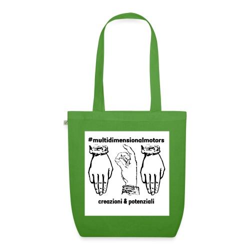 logo #MultiDimensionalMotors con segni italiani - Borsa ecologica in tessuto