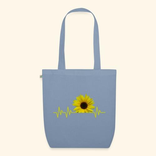 sunflowerbeat - zauberhafte Sonnenblume - Bio-Stoffbeutel
