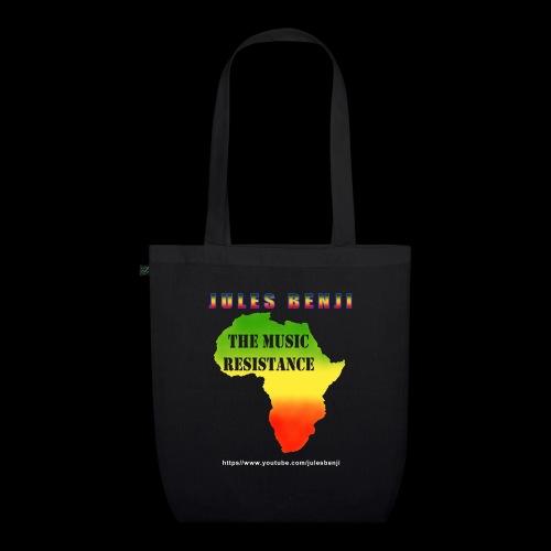 JULES BENJI & MUSIC RESISTANCE africa design - EarthPositive Tote Bag