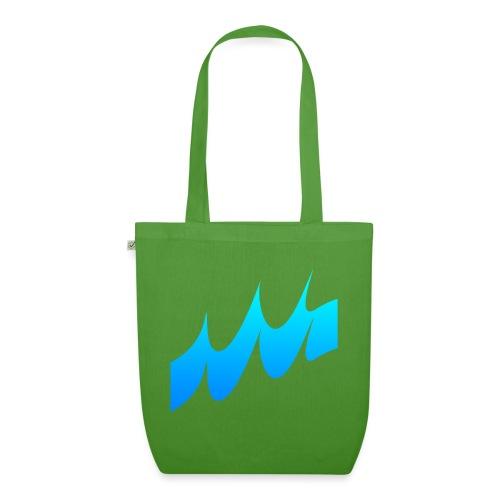 Ocean Waves or just Deep - EarthPositive Tote Bag