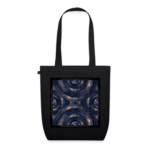Out of the Blue - Cosmos Kosmos - EarthPositive Tote Bag